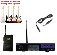 Bolymic Wireless microfoon Digital Instrument System for Guitar or Bass Microphone