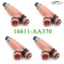 4pcs New 16611-AA370 Pink Fuel Injector Fits Subaru STI WRX Forester Impreza 2.5L 2.0L(China)