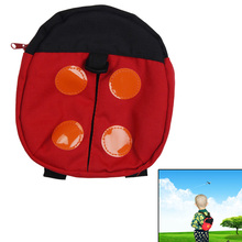 Baby Walking Wings Machine Washable LUFY Children Safety Harness Backpack Ladybird Baby Anti-lost Walking Wings Red