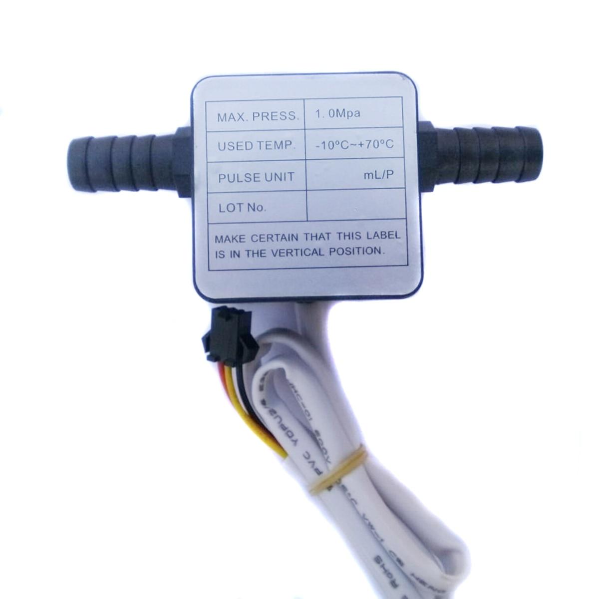 1Pcs 12-24V LCD Digital Fuel Oil Flow Meter Flowmeter With 13mm Gasoline Gear Flow Sensor High Quality