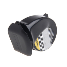 Universal Waterproof Loud Snail Air Horn Siren 130dB For 12V Truck Motorcycle(China)