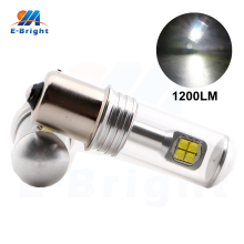 Quality 2pcs 1200Lm 10-30V 2525 40W Led Bulb 1156 BA15S 1157 BAY15D T20 3156 3157 7440 7443 High Light Tail Light Free Shipping