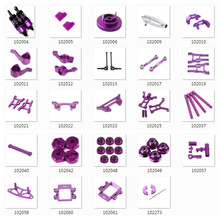 HSP REDCAT HIMOTO RC Car Upgrade Parts For 1/10 On-Road Truck Buggy Aluminum Spare Parts(China)