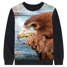 kids clothing tees Brown eagle printing tops baby girl brand Long sleeve boy child Small dinosaur Children clothing kids t shirt