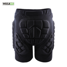 WOSAWE Sports Gear Short Protective Hip Butt Pad Ski Skate Skateboard Snowboard Protection Drop Resistance Roller Padded Shorts(China)