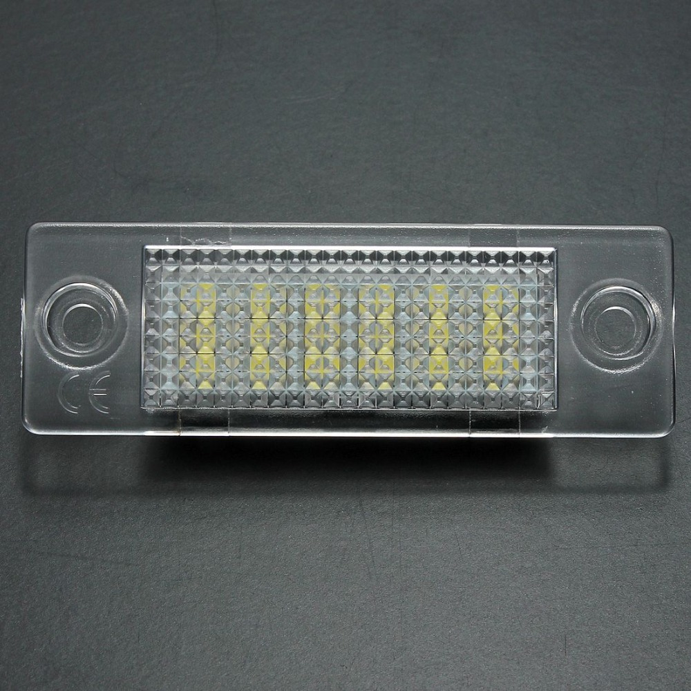 2x LED License Number Plate Light Lamp For VW Cadillac Transporter Golf Error Free<br><br>Aliexpress