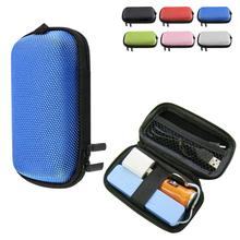 Multifunction design 6 colors EVA receive package cell phone headset Bluetooth headset cable receive storage bag(China)