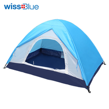WissBlue Inflatable Bubble Camping Tent For Fishing Hunting Tourist Flytop Pyramid Double Camouflage Transparent Mosquito Net(China)