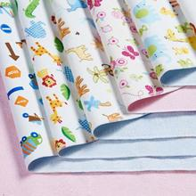 Insular 100% Cotton Baby Nappy Changing 3 Layers Lamination Baby Changing Mat Urine Pad Baby Mat(China)