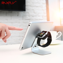 RAXFLY Charging Stand For Apple Watch iWatch iPad iPhone Samsung Bracket Docking Station Stock Cradle Holder Desktop Support