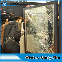 High transmittance SGS certificate 100 microns window film safety & security window film