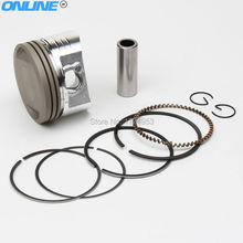 LF lifan 150cc Oil Cooling Cooled Horizontal 4-Stroke engine parts engine Engine Piston And Piston Ring Set Free Shipping