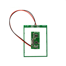 HF RS232 rfid module reader support S50/S70,F08 , I-Code2 compatible card operating distance 5~10cm for Anti-fake tracking