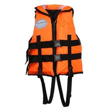 Professional swimming lifejacket Children Adjustable Safety Life Jacket Survive Rescue Life Saving Vest Life-Saving Jackets NEW(China)
