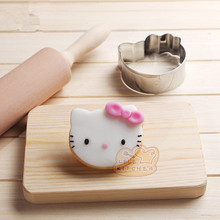Specialized Metal Alloy Cake Cookie Bakeware Mould Fondant Cookie Cutters Biscuit Mold Kitchens hello kitty  Lovely cat