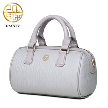 Mini fashion leather handbags for women Pmsix 2017 Chinese Style new packet shoulder bag Boston  Messenger bag P320004