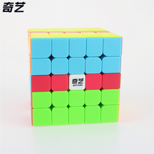 QiYi QI ZHENG S 5x5 Magic Cube Competition Speed Puzzle Cubes Toys For Children Kids cubo stickerless Matte cube Gifts Toys(China)