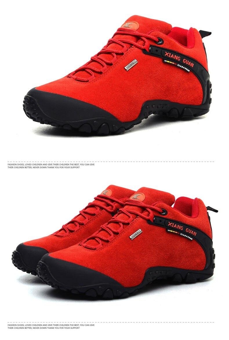 XIANG GUAN Winter Shoe Mens Sport Running Shoes Warm Outdoor Women Sneakers High Quality Zapatillas Waterproof Shoe81285 45
