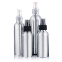 100ml/120ml Aluminum Perfume Bottle With Spray Mini Portable Empty Refillable Perfume Atomizer Spray Bottle(China)
