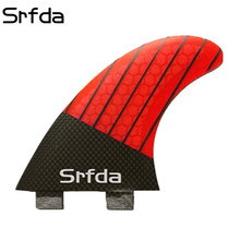 srfda New design FCS surf fins/surfboard fins/high performance fcs fins of surfing(China)