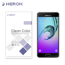 0.3mm Tempered Glass for Samsung Galaxy A3 2016 A3100 2.5d Round Border Anti Explostion Finger Print Film with Retail Package
