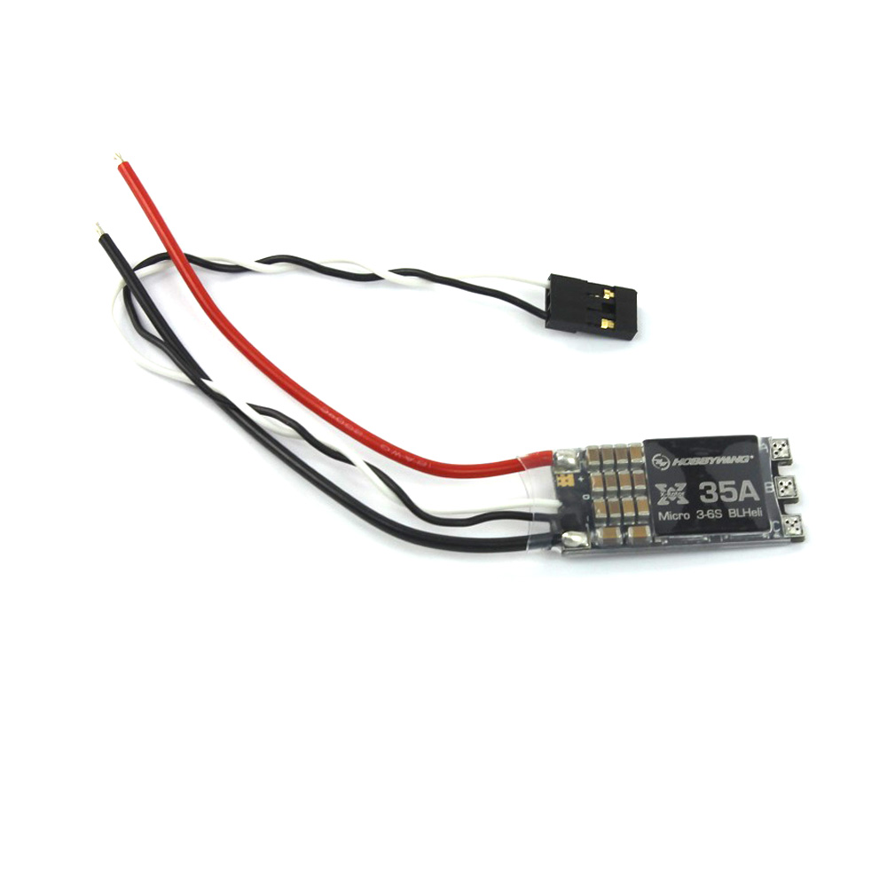 F18630/2 Hobbywing XRotor Micro No BEC 20A / 30A / 35A  BLHeli Mini ESC Support OneShot125 w/ Wires for FPV Racing Drone Copters<br><br>Aliexpress