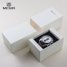 Original MEGIR Watch Box Awesome Sturdy Watch Case Elegant Gift Box Multifunctional Storage Box for Watches