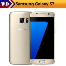 Original Samsung Galaxy S7 G930F Mobile Phone Quad Core 4GB RAM 32GB ROM Waterproof 4G LTE 5.1 Inch NFC GPS 12MP Smartphone(China)