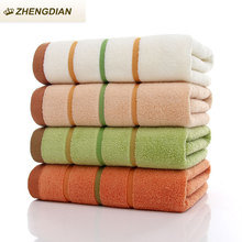ZhengDian toalha NEW 100% Cotton 1pcs Face towel For Adults Fast Drying Soft  Absorbent air permeability  Beach towel playa