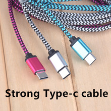 2A Fast charging Nylon USB Type c Cable charger line adapter 30cm Short Type-c for xiaomi mi5 mi4 Meizu pro 6 mx5 Letv USB C