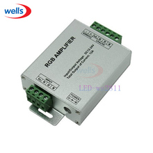 DC12-24V 12A RGB Amplifier Controller For 3528 5050 RGB LED Strip Module Light(China)
