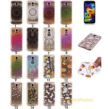 Soft TPU Phone Case For Samsung S5 classic Pattern Phone Cover For samsuns phone case Case