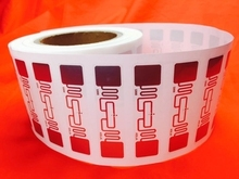 RFID UHF RF stickers UHF RFID tag 6C 6B reader special labels 74*23mm 512bit 8m Alien 9662