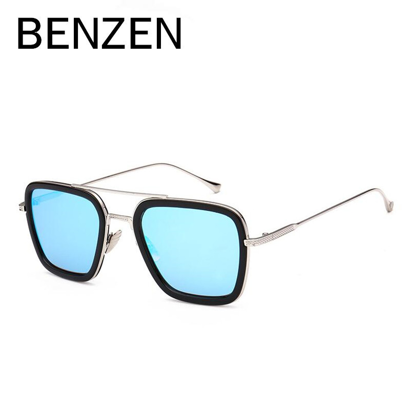 BENZEN Sunglasses Women Men Polarized Vintage Square Female Sun Glasses Colorful Shades Driving Glasses For Men With Case 6292<br><br>Aliexpress