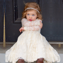Flower baby girls dresses for children bridal costume kids wedding clothes formal events prom pageant toddler princess dress