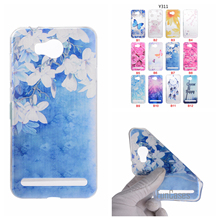 Cartoon Flower Butterfly Bear Tree Painted Back Cover Silicon Gel Soft TPU Mobile Phone Case For Huawei Y3 ii coque Y5 II Y6 2rd