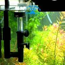 Mini nano surface Skimmer water plant fish tank oil surface clean filter accessory float on water ISTA