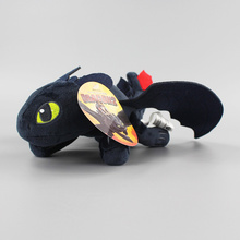 23cm/33CM How to Train Your Dragon Toothless dragon toy Night Fury Plush Toy Stuffed doll Toys