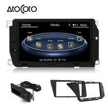 7 Inch Digital Touch Screen Car DVD GPS Player for Audi A4L A5 Q5 with Navigation Bluetooth + HD Camera / Keep Original CD Radio