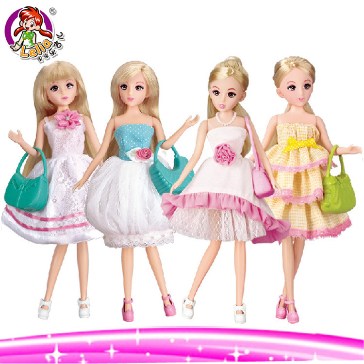 Free Shipping Fantasy Beautiful Lelia Princess Doll Set For 1/6 Dolls Fashionable Doll Gift Set Girls Excellent Birthday Gift<br><br>Aliexpress