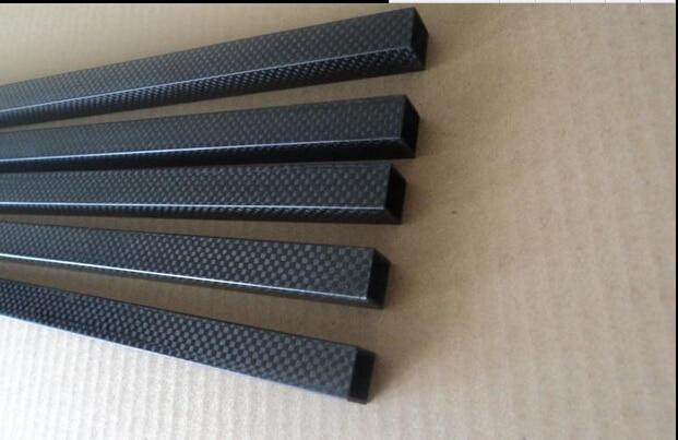10pcs Free shipping Square full carbon fiber tube 22X22X20X600MM Multi rotor use 3K carbon fiber tube<br><br>Aliexpress