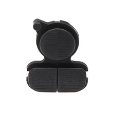 Uncut Blade Folding Car Remote Flip Key Shell Case Fob Replacement Key 3 Button Rubber Pad for BMW 3 5 7 Alarm Systems Security(China)
