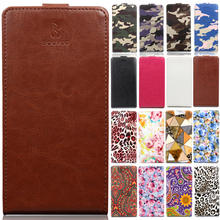 BOGVED brand Luxury Card Slot flip cover PU Leather Case For Fly Cirrus 11 (FS517) Camouflage mobile phone cover