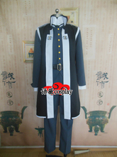 Gyakuten Saiban Phoenix Wright Ace Attorney Simon Blackquill Cosplay Costume(China)