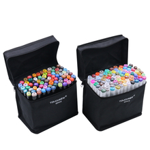 30 Colors Touch New 6 Generation Art Markers Set Double Head Alcohol Sketch Copic Markers Pen For Manga Drawing Markers Design
