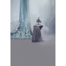 Custom vinyl cloth fantasy curtains flower tree photography backdrops for wedding model photo studio portrait background CM-5739