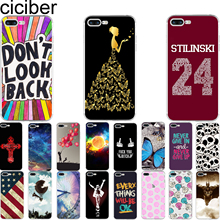 ciciber Fashion Pattern Print Design Soft Silicone Phone Cases Cover for Iphone 7 6 6S 8 Plus 5S SE X Teen Wolf Skeleton Shell(China)