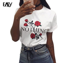 Plus Size Tshirt Women Summer Short Sleeve Floral Print Flower T Shirt for Woman O-neck Cotton Tops Female Fitness Printed White