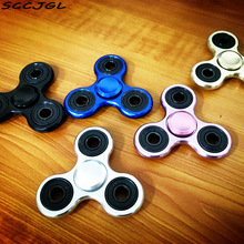 Fidget Spinner Hand Spinner Desk Finger Spin Spinning Top EDC Sensory Aluminum alloy Toy Anxiety Stress Relief toys(China)