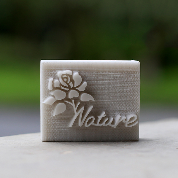 Handmade soap printed pattern Rose Nature resin soap seal stamp mold chapter 5*4cm making personalized soap<br><br>Aliexpress